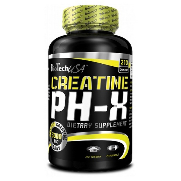 BioTech CREATINE pHX 210 caps