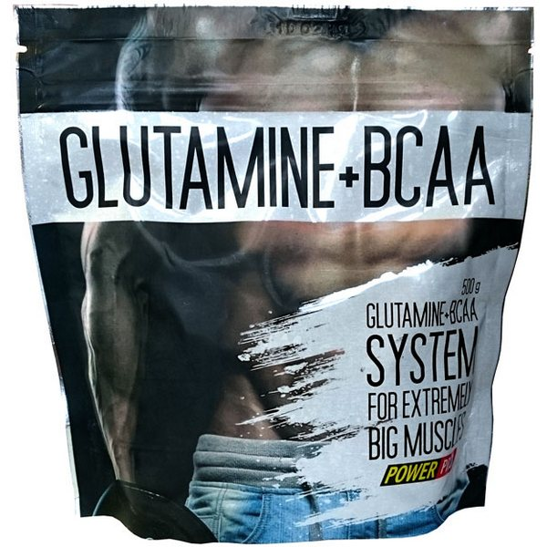 PowerPro Glutamin + BCAA 500 гр.