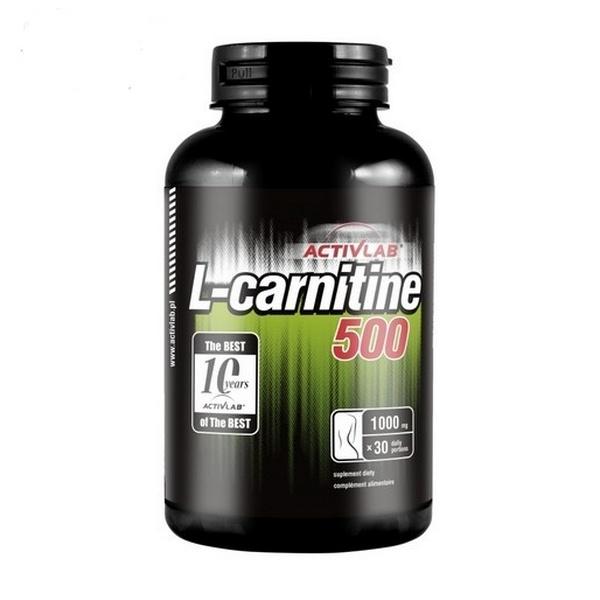 ActivLab Black  L-Carnitine 500, 60 caps