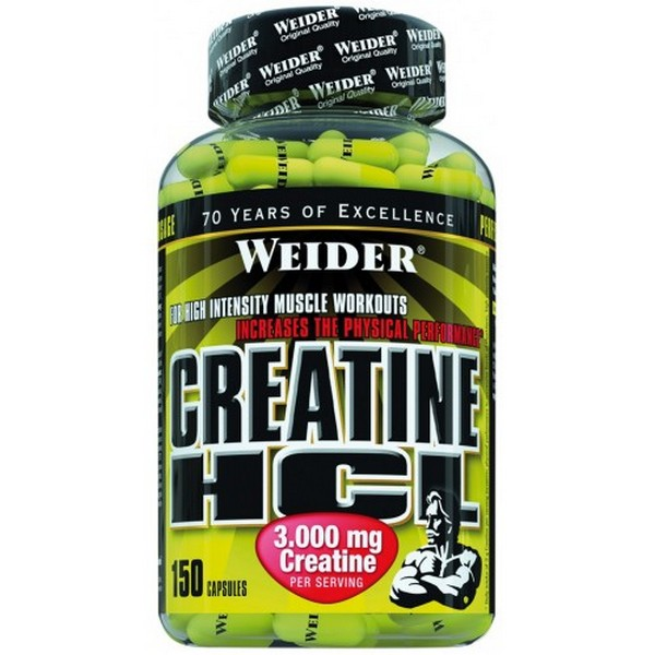 Weider Creatine HCL 150 capsules