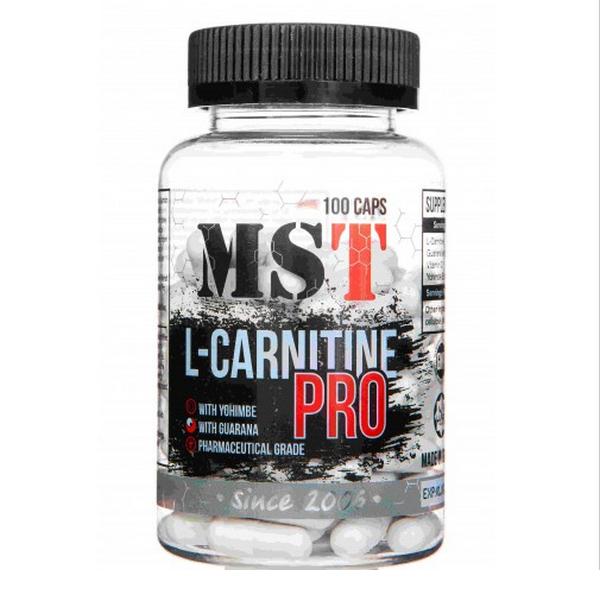 MST L-Carnitine PRO 100 caps