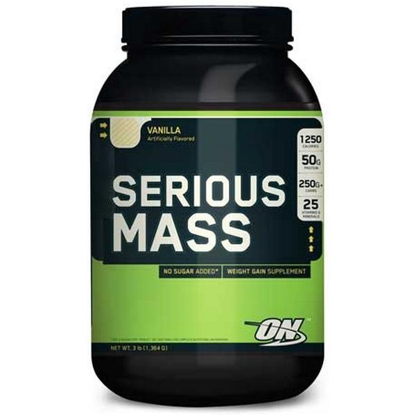 Optimum Nutrition SERIOUS MASS, 1,37 кг