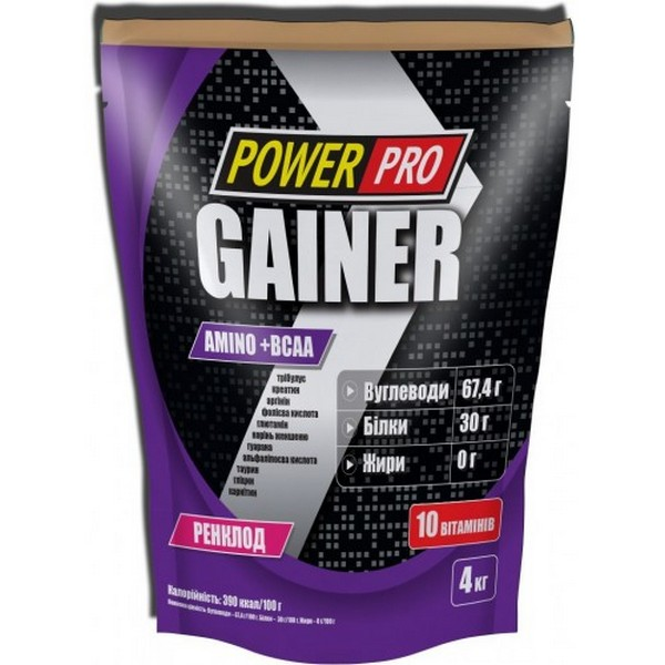PowerPro Gainer 4кг