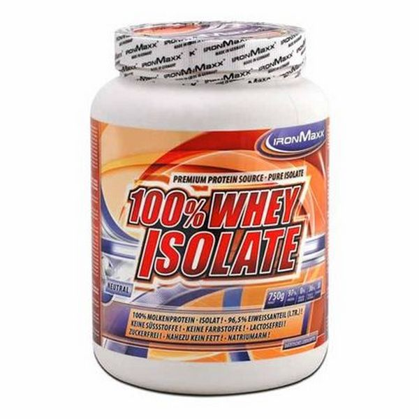 Ironmaxx 100 % Whey Isolate 750