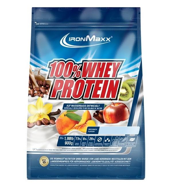 Ironmaxx 100 % Whey Protein 900 г