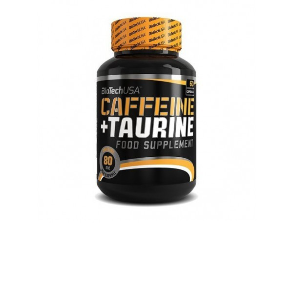 Biotech Caffeine+Taurine Power Force 60 caps