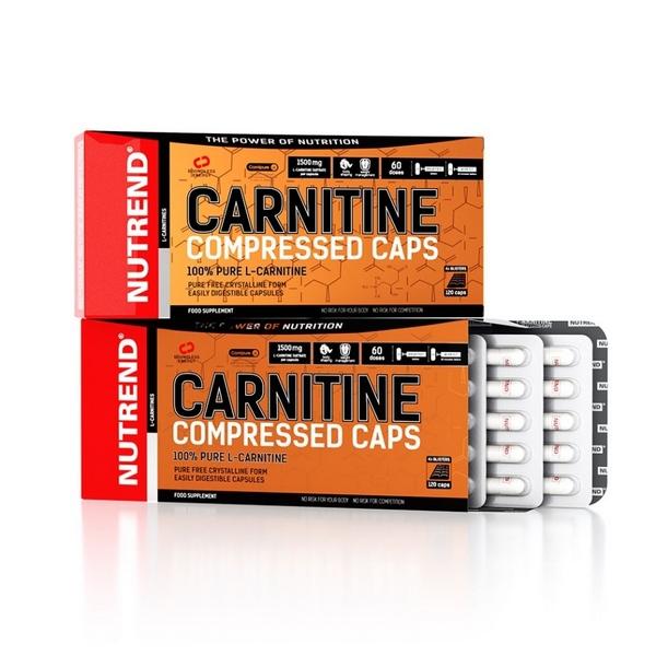 Nutrend CARNITINE Compressed caps 120 caps