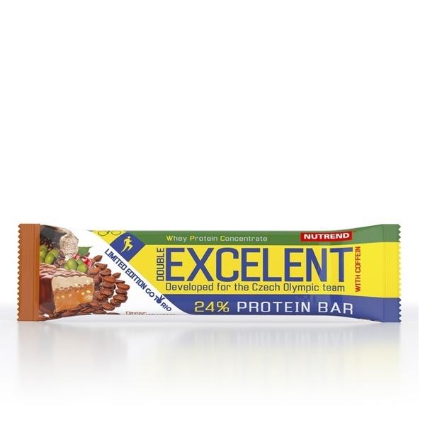 Nutrend EXCELENT BAR DOUBLE с кофеином 85 g
