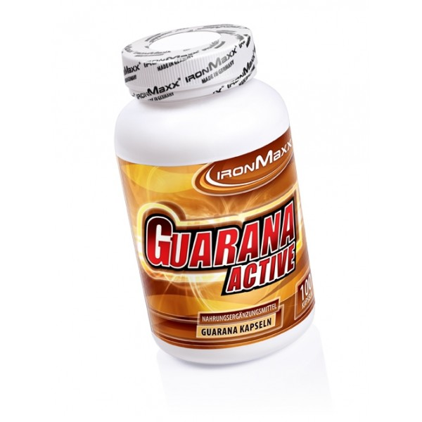 Ironmaxx Guarana Active 100 caps