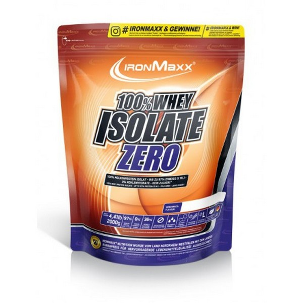 Ironmaxx 100 % Whey Isolate Zero 750 г
