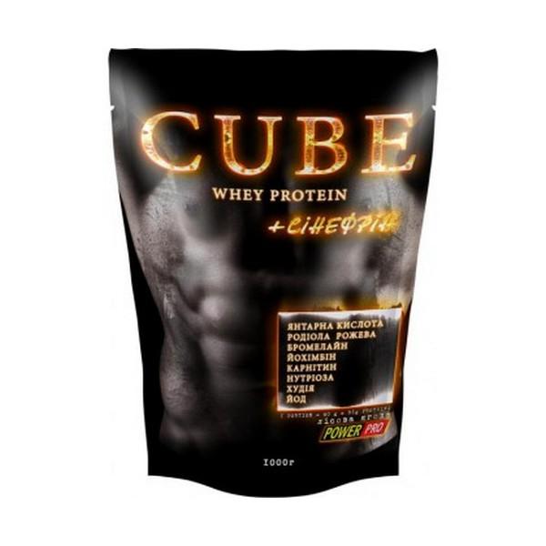PowerPro CUBE whey protein, 1кг