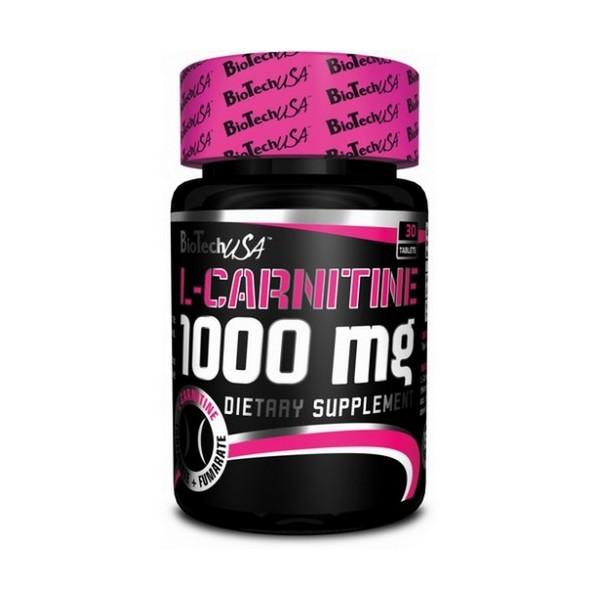 BioTech L-CARNITINE 1000 mg, 30 таб