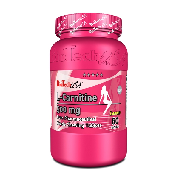 BioTech L-CARNITINE 500 mg, 60 таб.