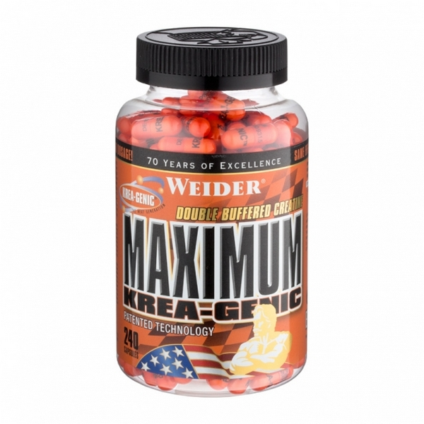 Weider Maximum Krea-Genic 240 capsules