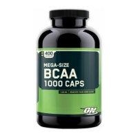 Optimum Nutrition BCAA 1000, 400 кап.
