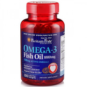Puritan's Pride Omega-3 Fish Oil 100 softgels