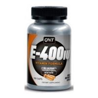 QNT Vitamin E 100 gelcaps